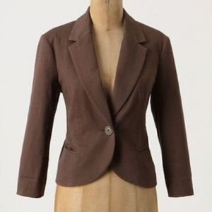Anthropologie Tabitha Abbreviated blazer jacket